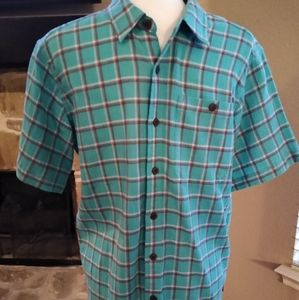 Patagonia A/C Button Shirt Sz Sm Short Sleeves